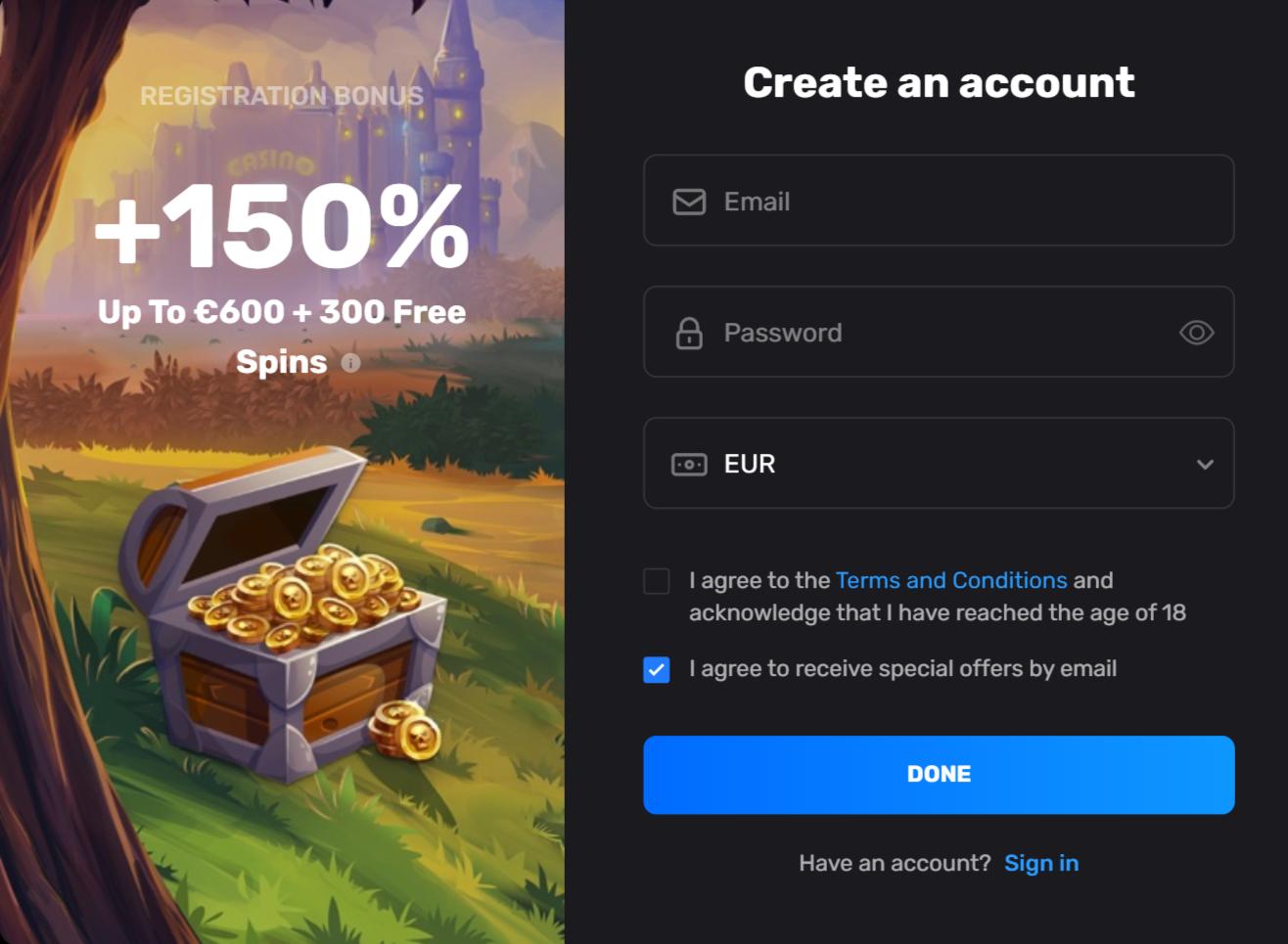 casinomia casino bonus free spins - 150% first deposit bonus 600€ chest golden coins weekend reload bonus - casinomia no deposit bonus code promo code
