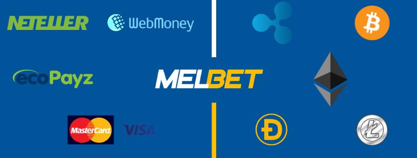 melbet mokėjimo būdai neteller webmoney ecopayz visa mastercard ripple bitcoin ethereum litecoin