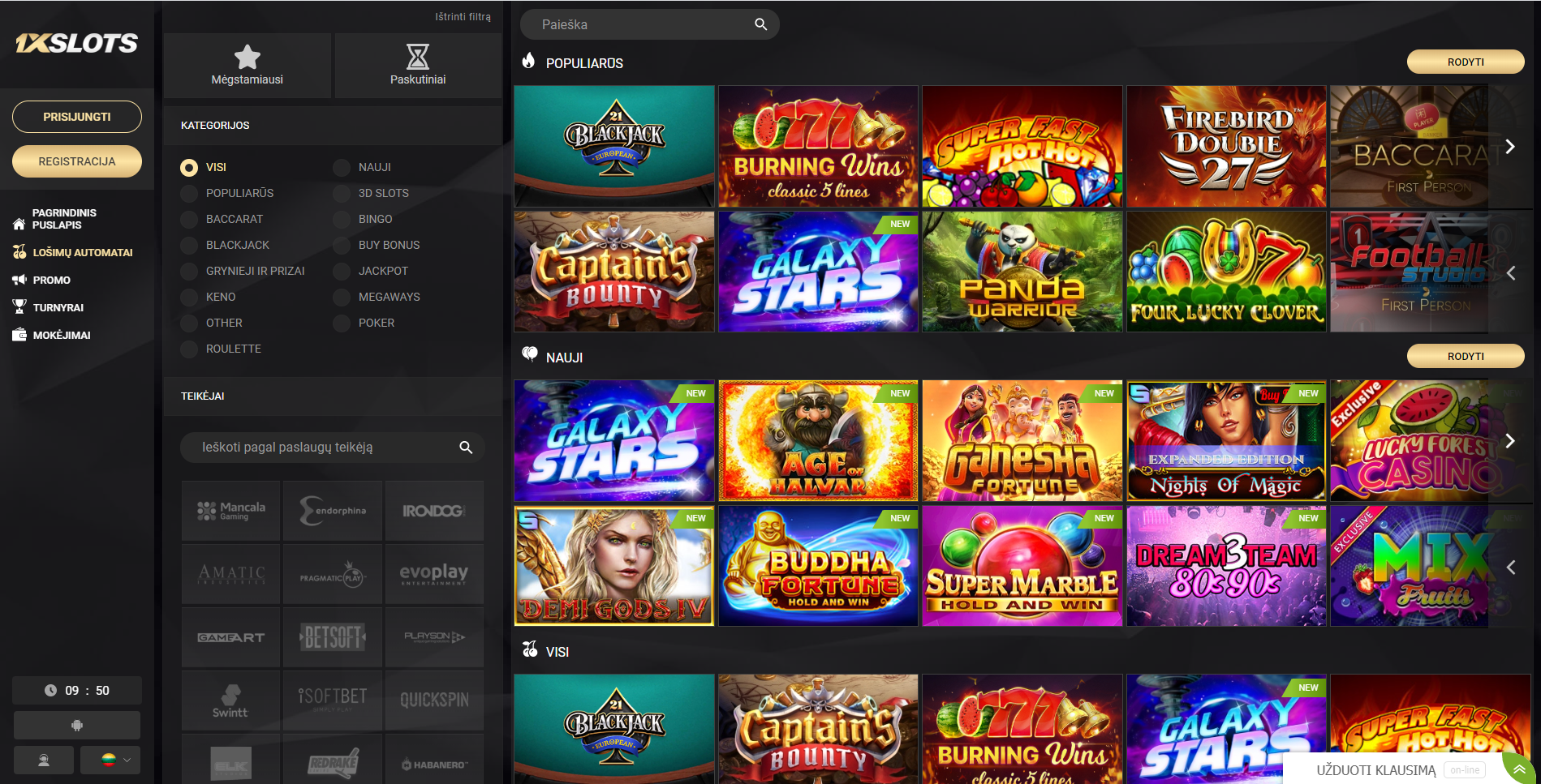 1xslots kazino žaidimai blackjack galaxy stars panda warrior 777 burning wins baccarat demi gods
