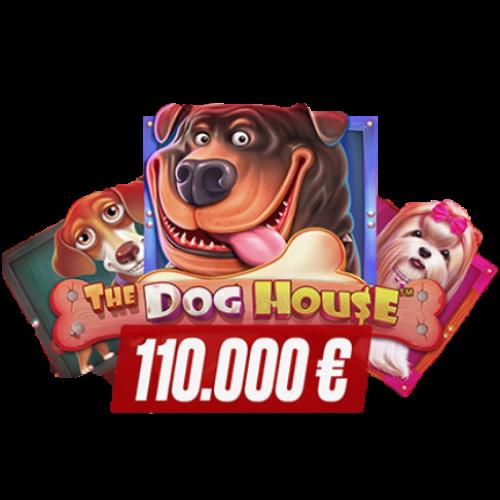 the dog house 110 000€ logo