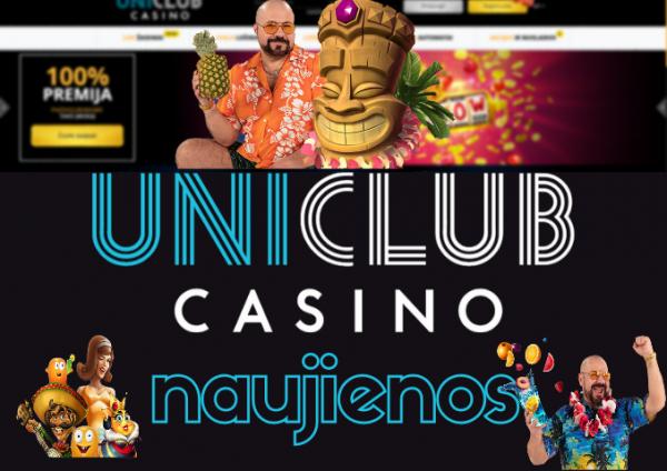 uniclub casino naujienos vasara aloha ananasas kokteilis