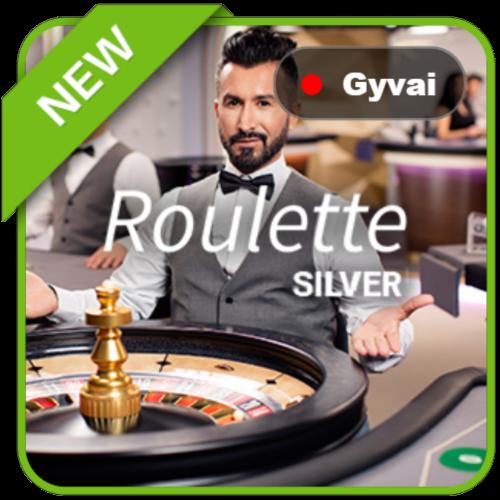 netent live logo new gyvai ruletė roulette silver dalintojas