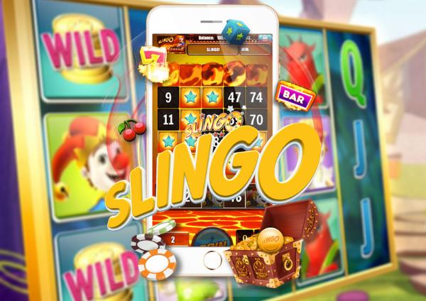 slingo kazino žaidimas mobilusis telefonas