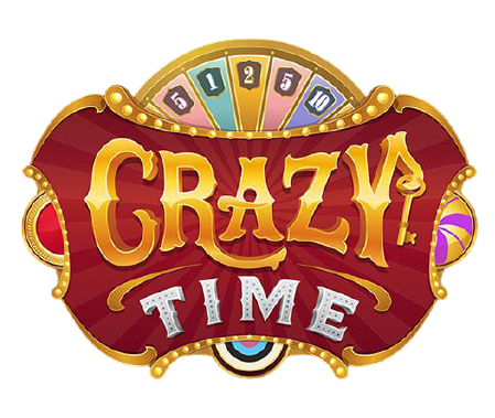 crazy time casino game logo transparent png