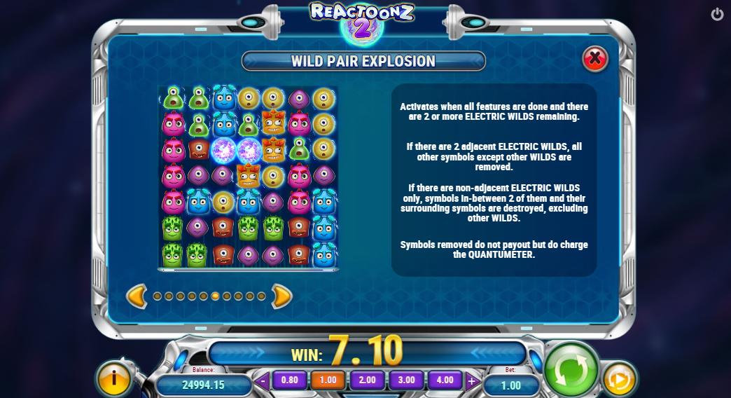 reactoonz 2 wild explosion