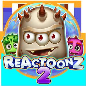 reactoonz 2 lošimo automatas logo