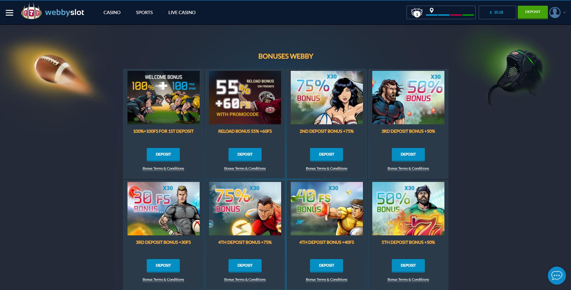 webbyslot casino bonus pasveikinimo premija kazino pasiūlymai nemokami sukimai 100€ 100% premija webbyslot bonus codes no deposit bonus