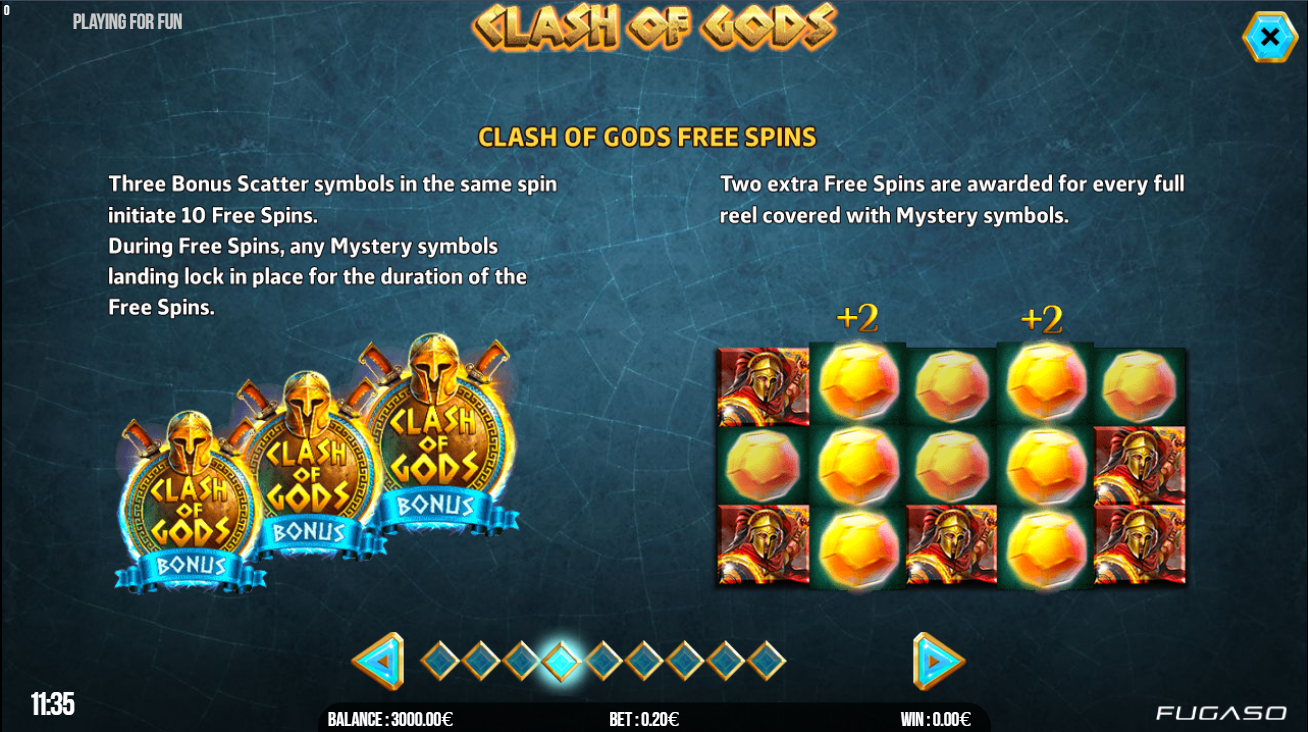 clash of gods free spins lošimo automatas future gaming solutions