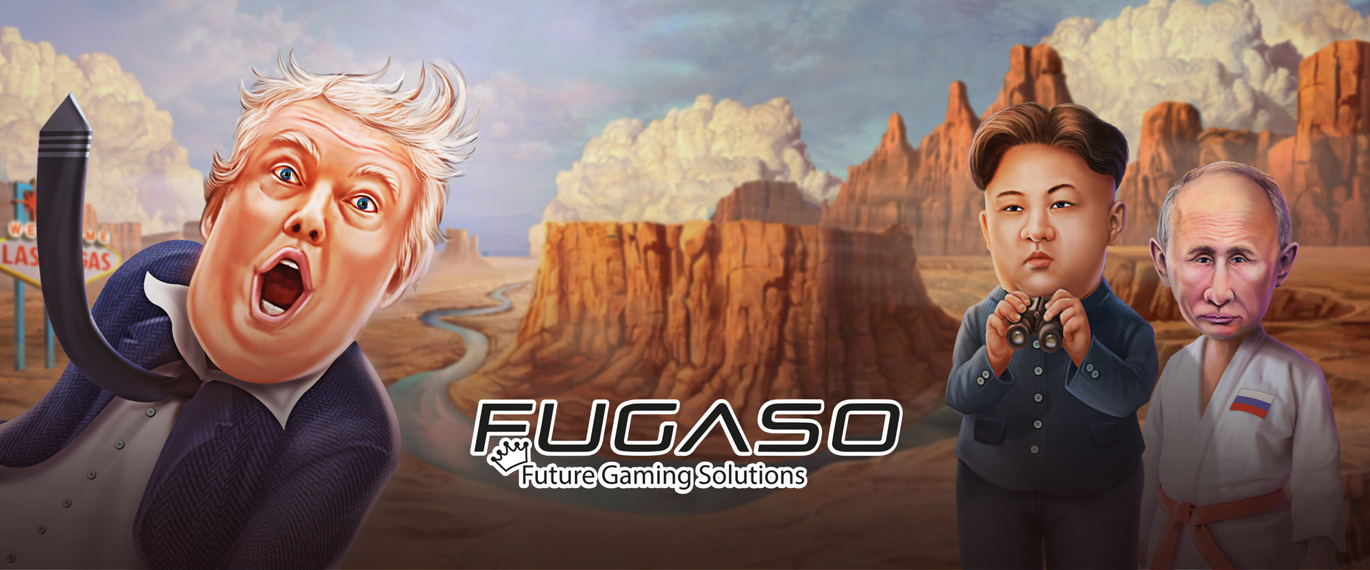 fugasocasino  logo trump it putin kim jong un future gaming solutions