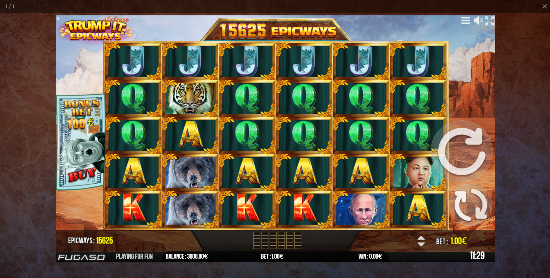trump it deluxe epicways fugaso lošimo automatas slot