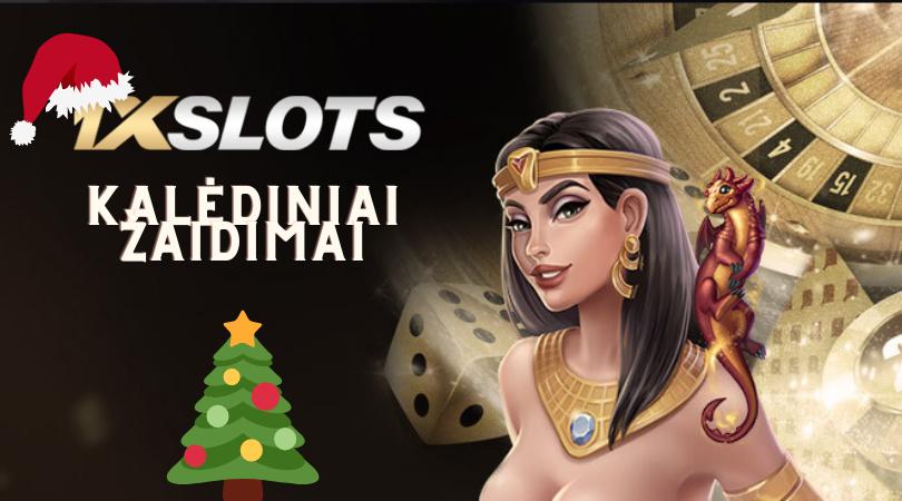 1xslots kazino kalėdiniai lošimo automatai