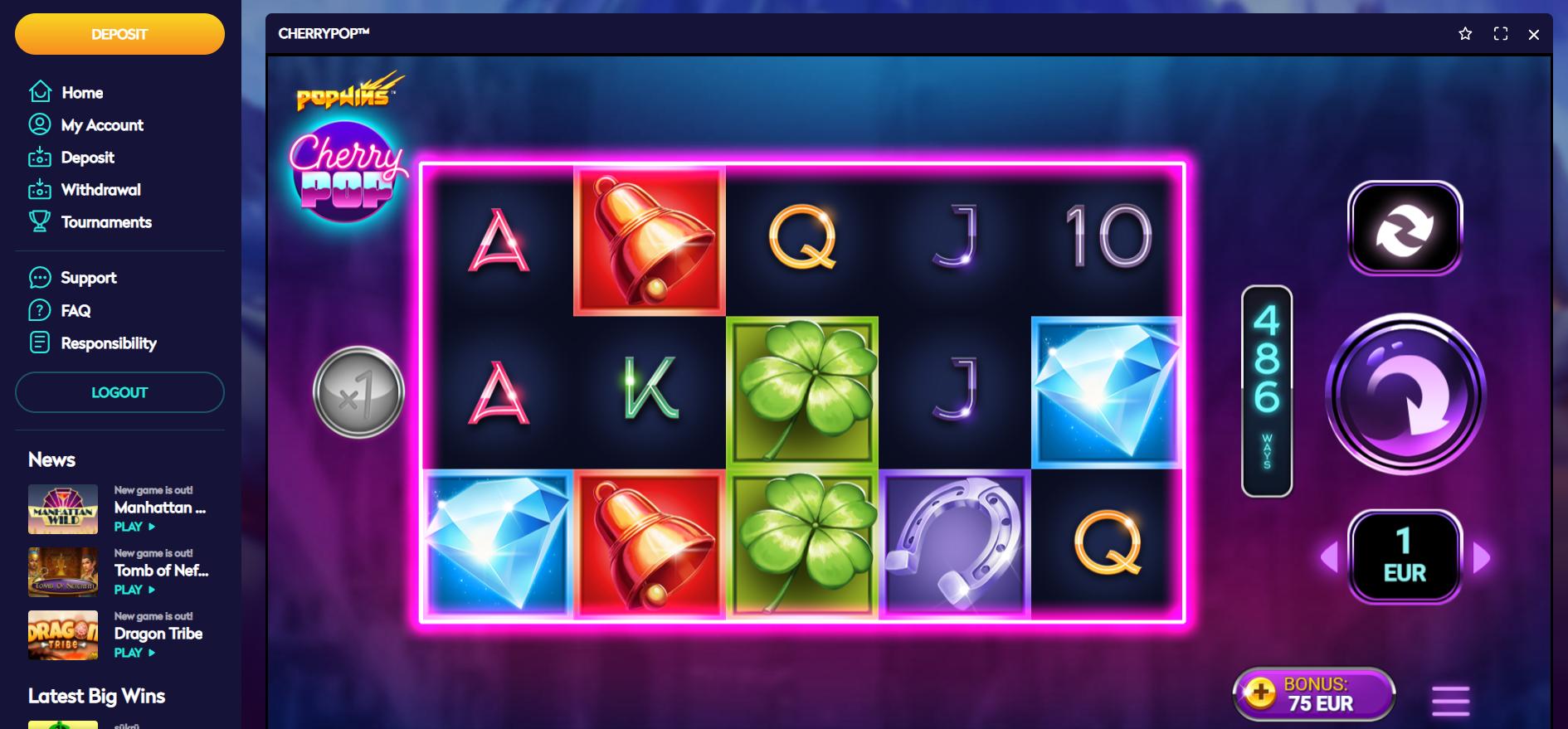 casino360 cherry pop avatar ux yggdrasil