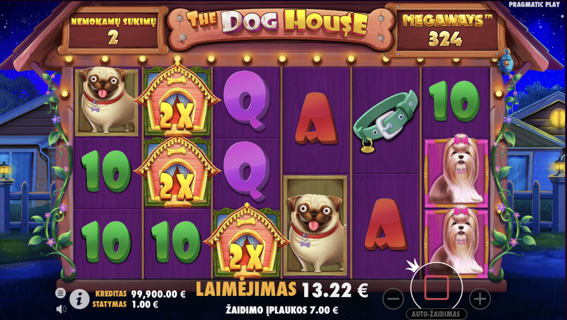 the dog house megaways sticky wilds free spins