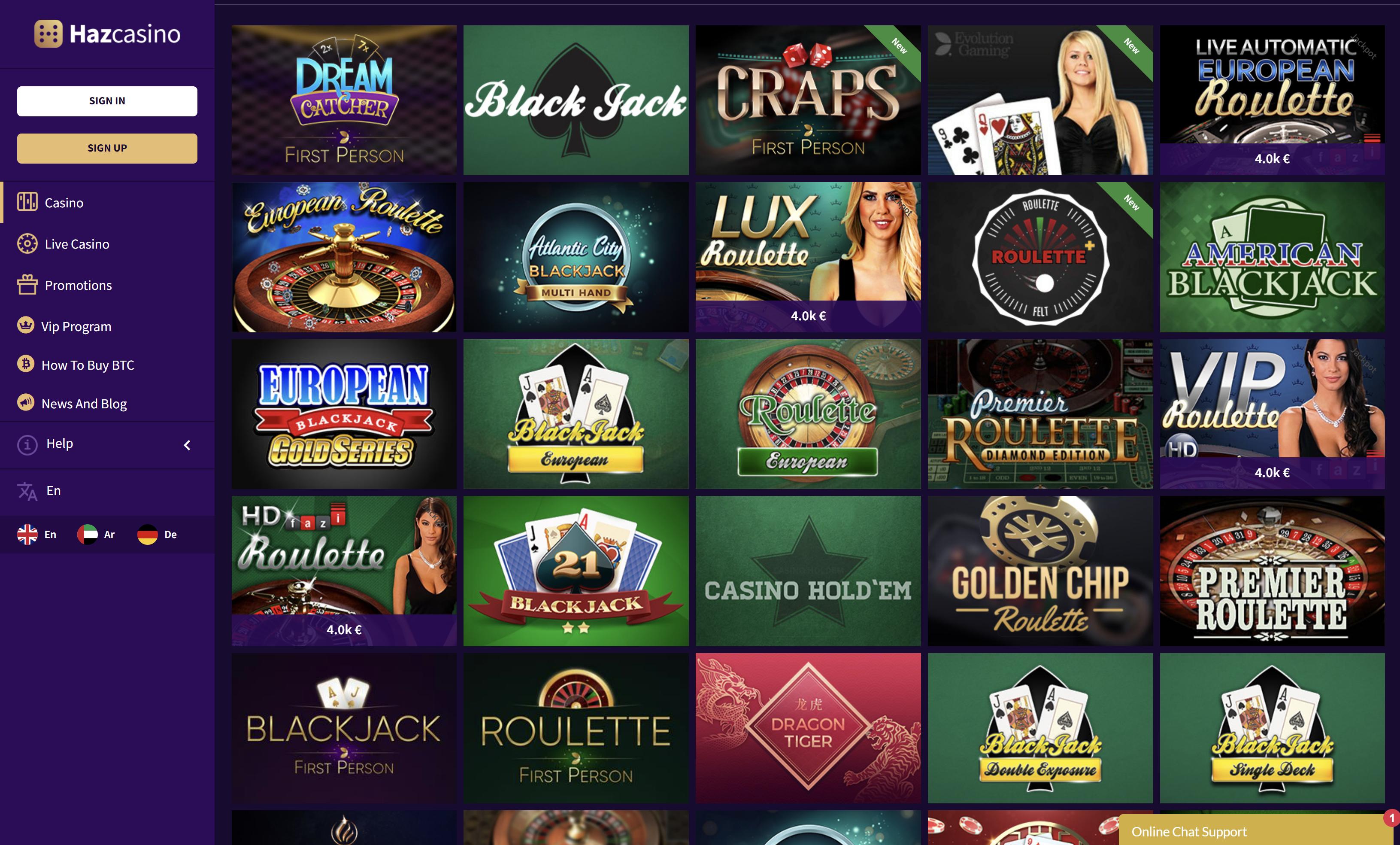 haz casino stalo žaidimai blackjack ruletė bakara