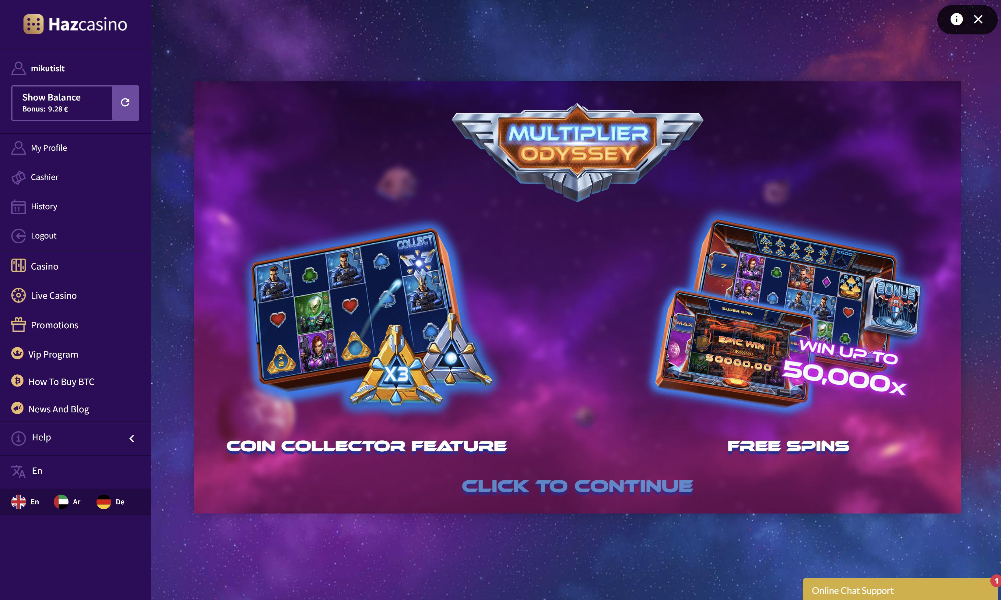 multiplier odyssey relax gaming lošimo automatas