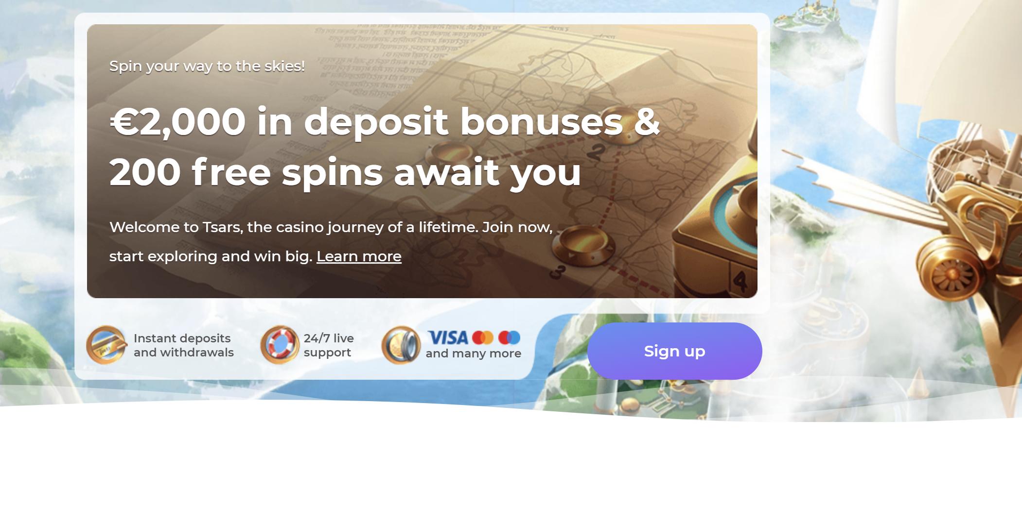 kazino bonusai premija be depozito - tsars casino sukimai be įnašo no deposit casino bonus