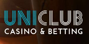 uniclub kazino logo tamsus