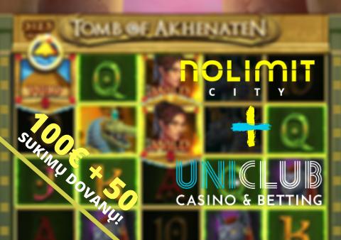 uniclub kazino nolimit city tomb of akhenaten