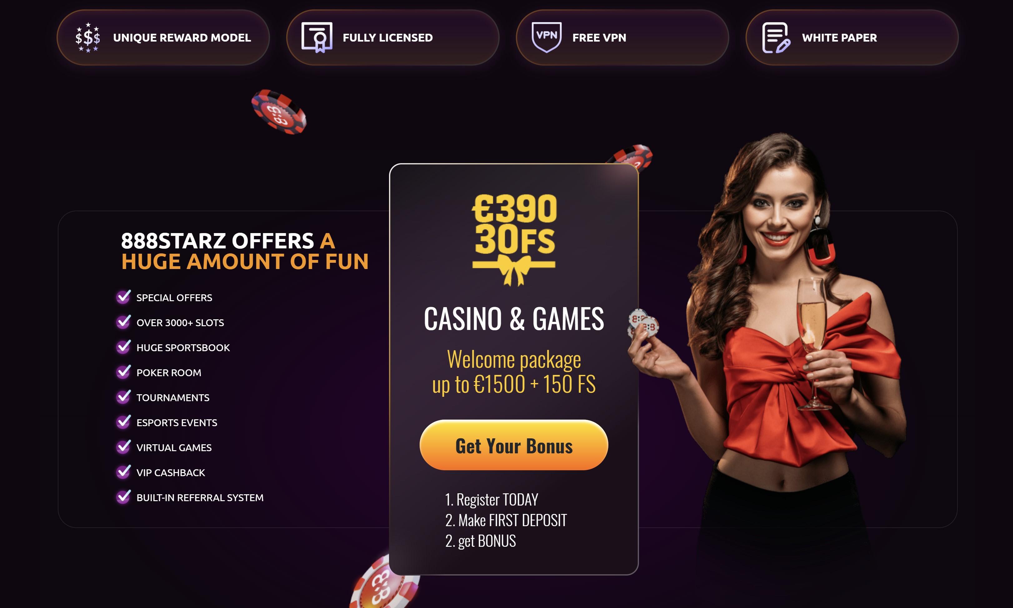 888starz casino bonus code 390€ kazino premija