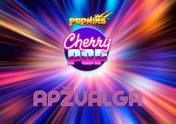 cherry pop lošimo automato apžvalga