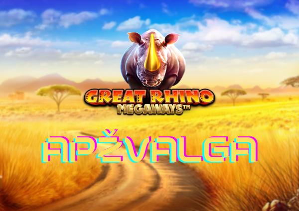 great rhino megaways apžvalga