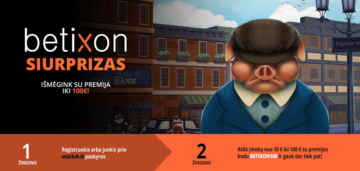 betixon premija uniclub kazino