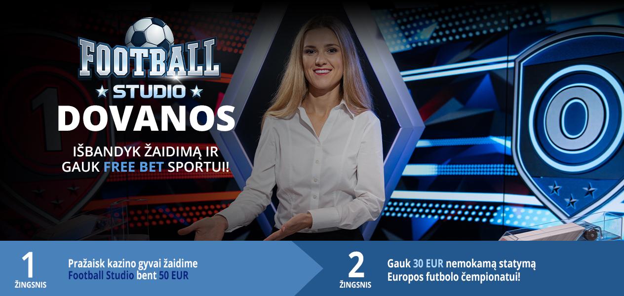 football sutdio 30€ free bet sportui